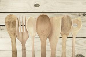 Wooden Spoon, Kitchen Utensil, Cooking Utensil.